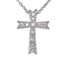 Simon G. LP3219/375468 18k White Gold Diamond Necklace