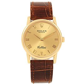 Rolex Cellini Classic 5115 31.8mm Mens Watch