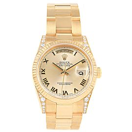Rolex President Day Date 118338 36.0mm Mens Watch