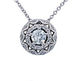 Tacori 18k White Gold Diamonds Necklace