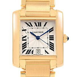 Cartier Tank Francaise Large 18K Yellow Gold Automatic Watch W50001R2