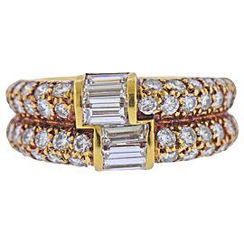 Van Cleef & Arpels Diamond Gold Ring