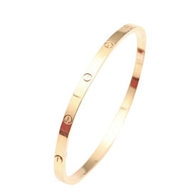 Cartier Rose Gold 18k Love Size 17 Bracelet