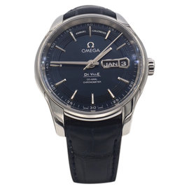 Omega DeVille 431.33.41.22.03.001 Stainless Steel with Blue Dial Automatic 41mm Mens Watch