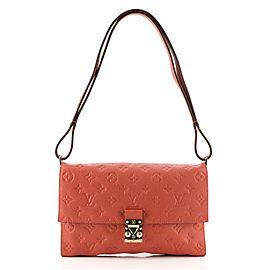 Louis Vuitton Fascinante Handbag Monogram Empreinte Leather