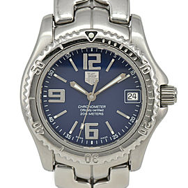TAG HEUER Link WT5212 Blue Dial Chronometer Automatic Boy's Watch