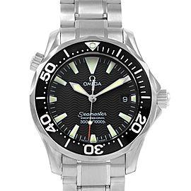 Omega Seamaster Midsize 36 Black Dial Steel Mens Watch 2262.50.00