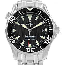 Omega Seamaster Midsize 36 Black Dial Steel Mens Watch 2262.50.00