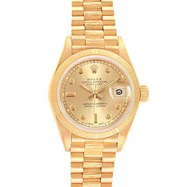 Rolex President Datejust 26mm 18K Yellow Gold Ladies Watch 69278