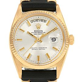 Rolex President Day-Date Vintage Yellow Gold Wide Boy Mens Watch 1803