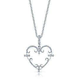 Rhonda Faber Green PE4361-WG/WD 18k White Gold Diamond Pendant