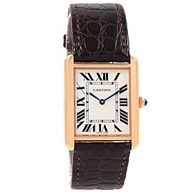 Cartier Tank Solo W5200025 34mm Mens Watch