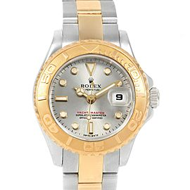 Rolex Yachtmaster Steel 18K Yellow Gold Ladies Watch 169623 Box