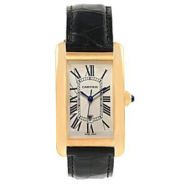 Cartier Tank Americaine W2603156 26.6mm Mens Watch