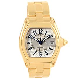 Cartier Roadster W62005V1 37mm Mens Watch