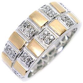 18k white gold/diamond Ring