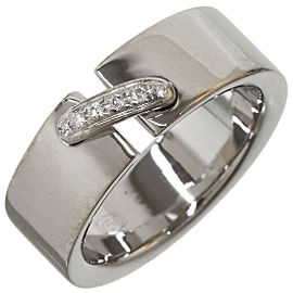Chaumet Diamonds Lien de Chaumet Band Ring in 18K White Gold US5