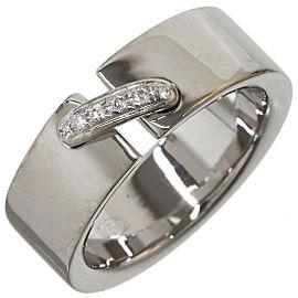 Chaumet Diamonds Lien de Chaumet Band Ring in 18K White Gold US5
