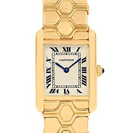 Cartier Tank Classic Paris 18k Yellow Gold Ladies Watch