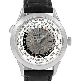 Patek Philippe World Time Complications White Gold Mens Watch 5230G