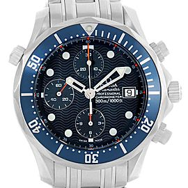 Omega Seamaster Bond Chronograph Steel Mens Watch 2599.80.00