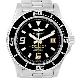 Breitling Aeromarine Superocean 44 Yellow Hand Watch A17391 Box Papers