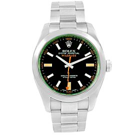 Rolex Milgauss 116400V 40mm Mens Watch