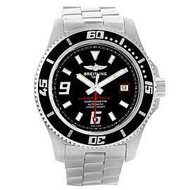 Breitling Aeromarine Superocean 44 Red Hand Mens Watch A17391