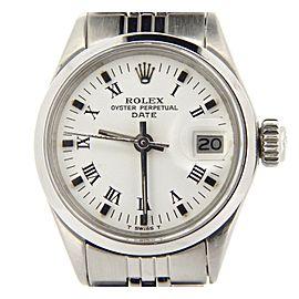 Rolex Date 6516 26mm Womens Vintage Watch