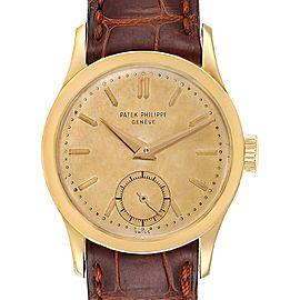 Patek Philippe Calatrava Yellow Gold Vintage Mens Watch 2545
