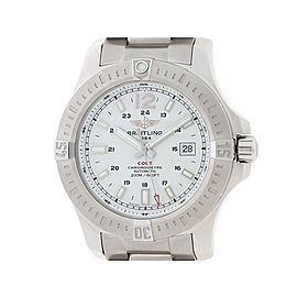 Breitling Colt A17388 SS 44mm Mens Watch
