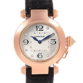 Cartier Pasha WJ11913G 24mm Womens Watch