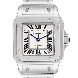 Cartier Santos Galbee XL Steel Mens Watch W20098D6