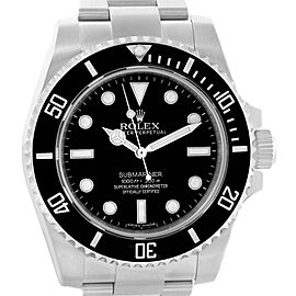 Rolex Submariner 114060 40mm Mens Watch