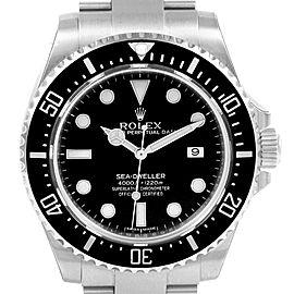 Rolex Seadweller 4000 Stainless Steel Mens Date Watch 116600 Unworn