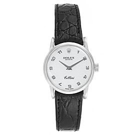 Rolex Cellini Classic White Gold MOP Dial Ladies Watch 6111