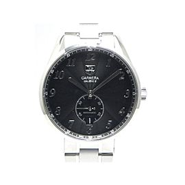 Tag Heuer Carrera WAS2110 SS 39mm Mens Watch