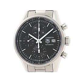 Tag Heuer Carrera CAR2210 SS 39mm Mens Watch
