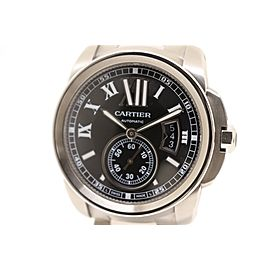 Cartier Calibre De Cartier W7100016 SS 42mm Mens Watch