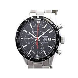 Tag Heuer Carrera Chronograph CV2014 SS 41mm Mens Watch