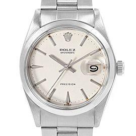 Rolex OysterDate Precision Oyster Bracelet Vintage Mens Watch 6694