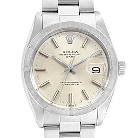 Rolex Date Vintage Silver Dial Automatic Steel Mens Watch 1501