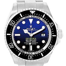 Rolex Seadweller Deepsea Cameron D-Blue Steel Watch 116660 Box Card