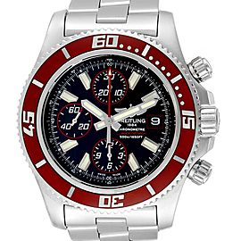 Breitling Aeromarine SuperOcean II Red Bezel Limited Edition Watch A13341