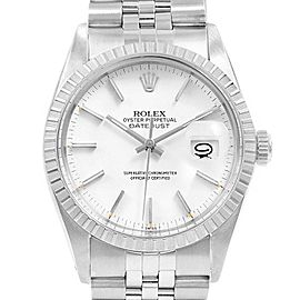 Rolex Datejust 36mm White Dial Steel Vintage Mens Watch 16030