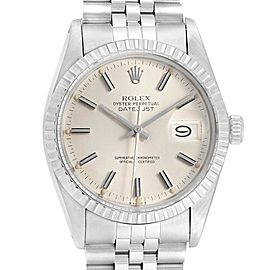 Rolex Datejust 36mm Silver Dial Steel Vintage Mens Watch 16030