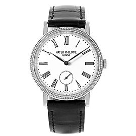 Patek Philippe Calatrava 31mm White Gold Ladies Watch 7119G