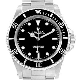 Rolex Submariner 40mm Non-Date Stainless Steel Mens Watch 14060