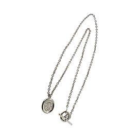 Hermes 18K White Gold Serie Necklace