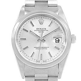 Rolex Date Domed Bezel Oyster Bracelet Automatic Mens Watch 15200